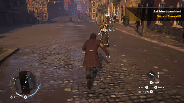 WizardSleeve08 playing Assassin's Creed Syndicate