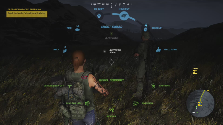keung playing Tom Clancy's Ghost Recon Wildlands