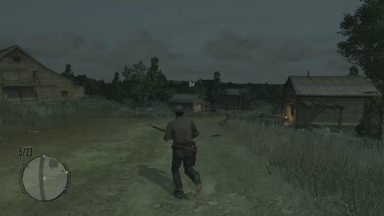 zGulher playing Red Dead Redemption