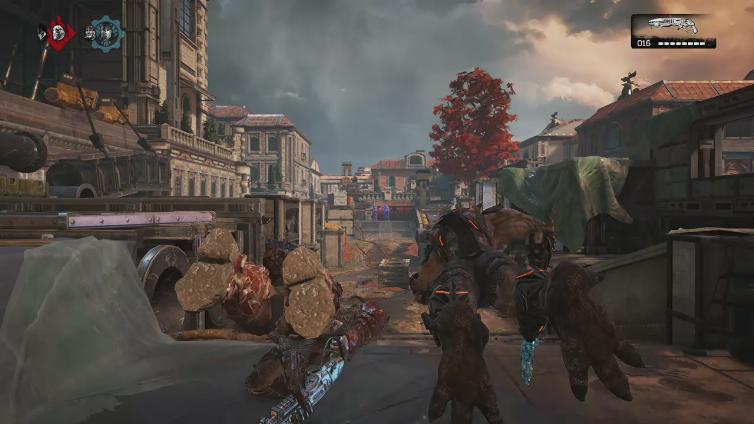 Kyk3 Styles playing Gears of War 4