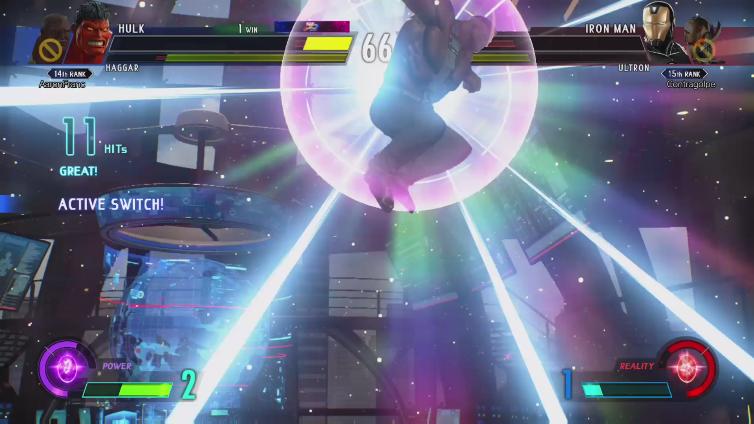 AaronFranc playing Marvel vs. Capcom: Infinite