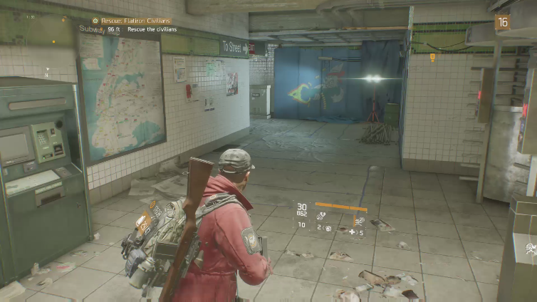 Big Brother playing Tom Clancy's The Division